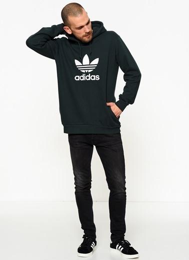 adidas Kapüşonlu Sweatshirt Renkli